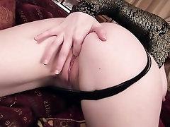 Babe, Big Tits, Masturbation, Panties