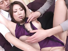Asian, Babe, Creampie, Hairy