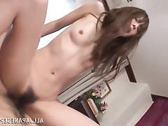 Asian, Blowjob, Cumshot, MILF, Stockings