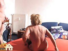 Blonde, Blowjob, Cumshot, German