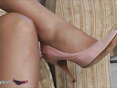 Lingerie, MILF, Pantyhose, Stockings, Upskirt