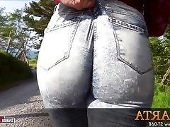 Big Butts, Spanish, Teen, Brunette, Jeans