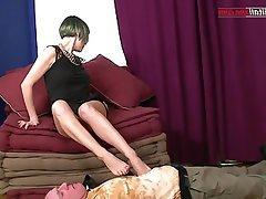 BDSM, Face Sitting, Foot Fetish, Italian, BDSM