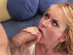 Big Boobs, Blonde, Cum in mouth, MILF