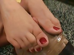 Brazil, Face Sitting, Femdom, Foot Fetish, Lesbian