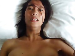 Homemade, Asian, POV, Creampie