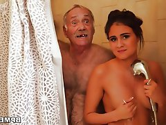 Blowjob, Teen, Old and Young, Big Butts
