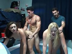 College, Coed, Student, College, Party, Teen