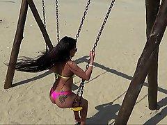 Beach, Brazil, Latina, Latina