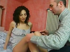 Anal, Brunette, Old and Young, French