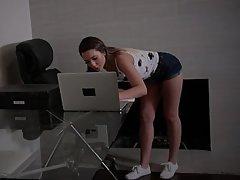 Teen, Webcam, POV, Blowjob