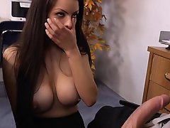 Big Tits, Brunette, Cute, Fucking