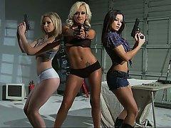 Blonde, Blowjob, Brunette, MILF