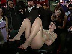 BDSM, Bondage, Brunette, Rough