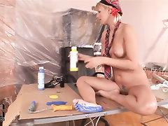 Big Ass, Ebony, Feet, Fetish, Panties