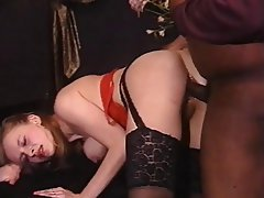 Anal, Vintage, Hairy, Interracial