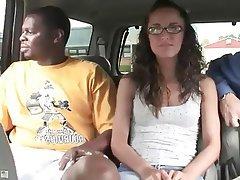 Cumshot, Interracial, Threesome