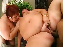 Fat threesome porn clips