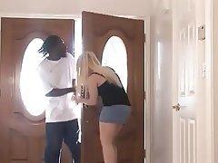 Big Butts, Blonde, Blowjob, Interracial