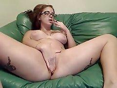 Amateur, Anal, Brunette, Tattoo, Webcam