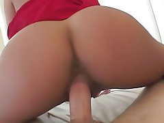 Big Boobs, Blowjob, Brunette, Pantyhose, POV